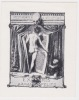Ex-libris.. Armando Polito, Espagne (propriétaire), E Viti (artiste), Ex-libris.
