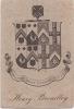 Ex-libris.. Henry Broadley, Angleterre (propriétaire), Ex-libris.