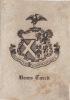 Ex-libris.. Henry Tweed, Angleterre (propriétaire), Ex-libris.