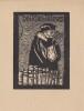Ex-libris.. Ian ou Tan Klika (Tchécoslovaquie) par R Erlen, Ex-libris.