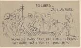 Ex-libris.. Vacslav Rudl (Tchécoslovaquie), Ex-libris.