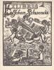 Ex-libris.. Johan Schwencke (Belgique ou Pays-Bas) par D.A. Bueno de Mesquita, Ex-libris.