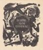 Ex-libris.. Johan Schwencke (Belgique ou Pays-Bas) par Mark Severin, Ex-libris.