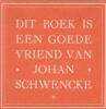 Ex-libris.. Johan Schwencke (Belgique ou Pays-Bas), Ex-libris.