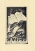 Ex-libris.. De Jaegher (Belgique ou Pays-Bas), Ex-libris.