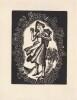 Ex-libris.. H.M. van Den Heuvel (Belgique ou Pays-Bas), Ex-libris.