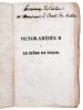 """""""VICTOR-AMEDEE II OU LE SIEGE DE TURIN, NOUVELLE HISTORIQUE…"""".. LEMERCIER Louise."""