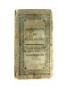 """""""ALMANACH DE VERSAILLES, ANNEE 1786 CONTENANT LA DESCRIPTION DU CHATEAU, DU PARC, DES JARDINS & DE LA VILLE DE VERSAILLES ; DU GRAND ET PETIT TRIANON ..."""