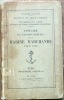 Annuaire de l'Administration de la Marine Marc hande pour 1922. Le Trocquer, M. (Ministère des Travaux Publics) et Rio, M. Alphonse (Sous-Secrétariat ...