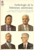 Anthologie de la littérature américaine. Daniel Royot, Jean Béranger, Yves Carlet, Kermit Vanderbilt.