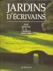 Jardins d'écrivains . José Cabanis et Georges Herscher.