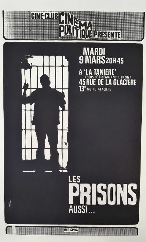 Les Prisons aussi.... [Cinéma Politique] ANONYME