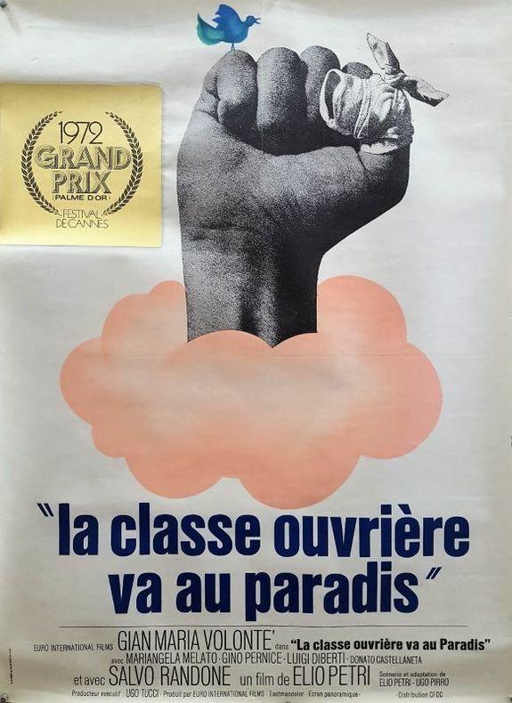 La classe ouvrière va au paradis.. [Cinéma/Politique/Social] FERRACI (René).