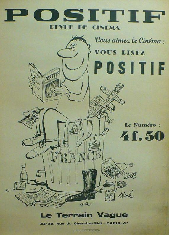POSITIF, Revue de Cinéma.. [Affiche/Cinéma] SINÉ