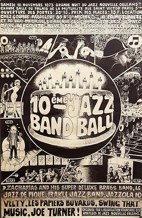 10e Jazz Band Ball. [Musique/Jazz] QUERAUD (Michel.B)