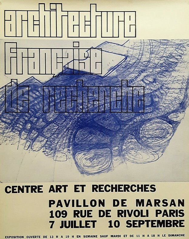 Architecture Française de Recherches. Pavillon de Marsan.. [Architecture]