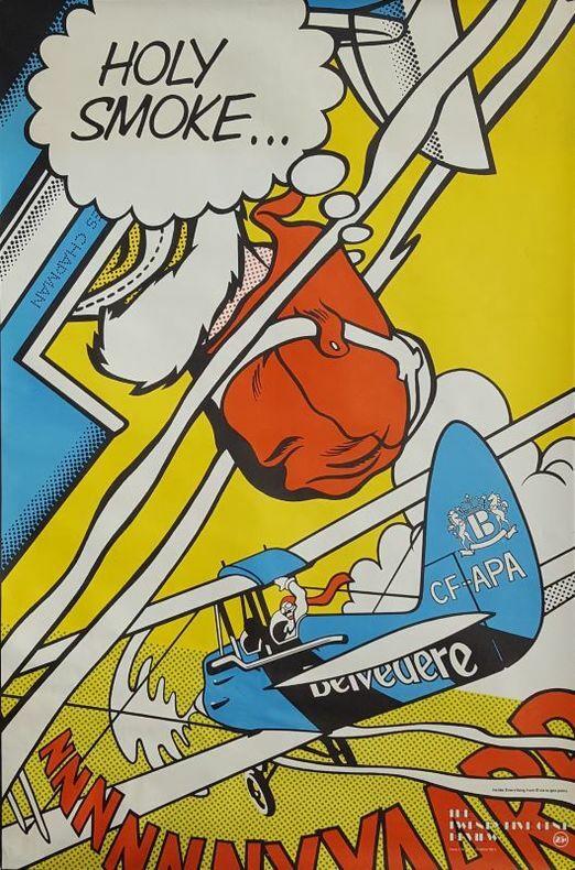 HE 25-CENT REVIEW, a unique poster magazine, n°1.. [Affiche/Pop-Art/Revue]