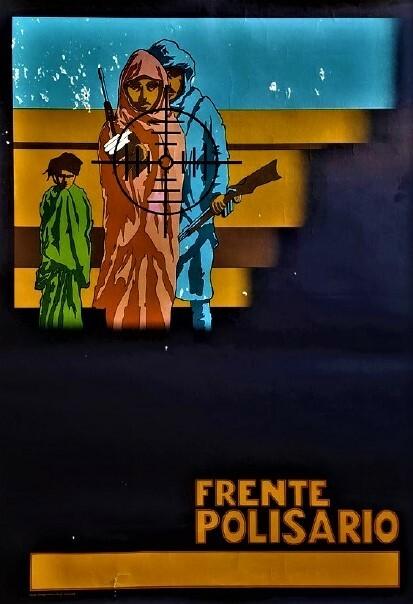 Frente Polisario. [Affiche/Front Polisario] HOOGENBOS (Hans)