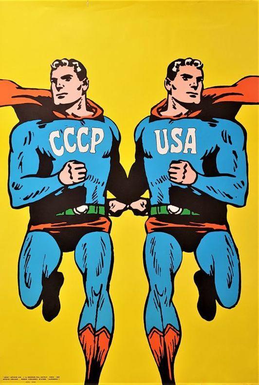 CCCP USA. [Affiche] CIESLEWICZ (Roman)