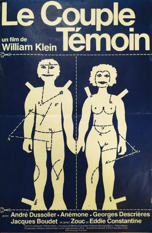 Le couple témoin.. [Cinéma] KLEIN (William)
