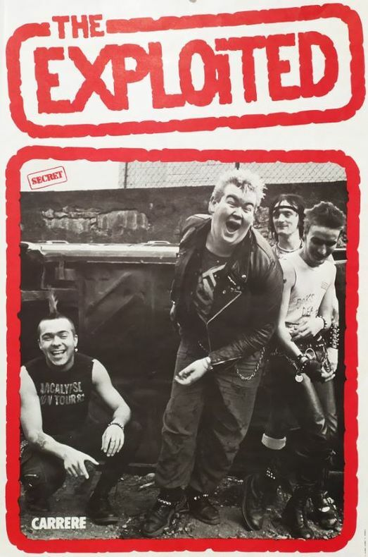 THE EXPLOITED.  [Affiche/Punk]
