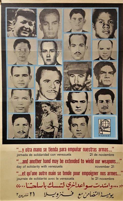 Jornada de Solidaridad con el Venezuela. [Cuba/Affiche] ANONYME