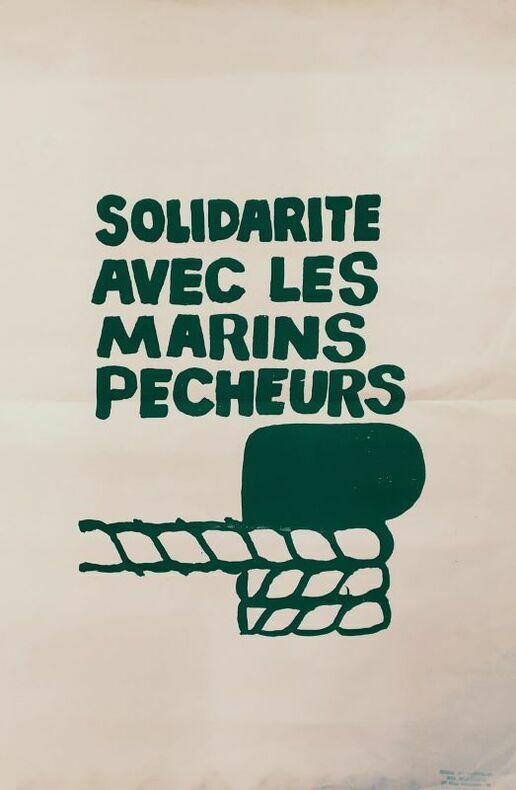 SOLIDARITÉ AVEC LES MARINS PECHEURS. [Mai 68]
