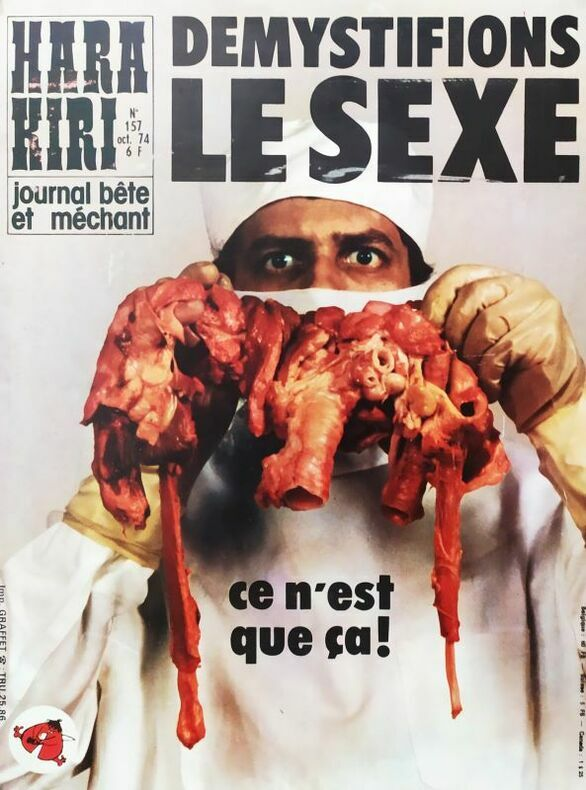DÉMYSTIFIONS LE SEXE.. HARA-KIRI. CHENZ (Jacques Chenard, attribué à)