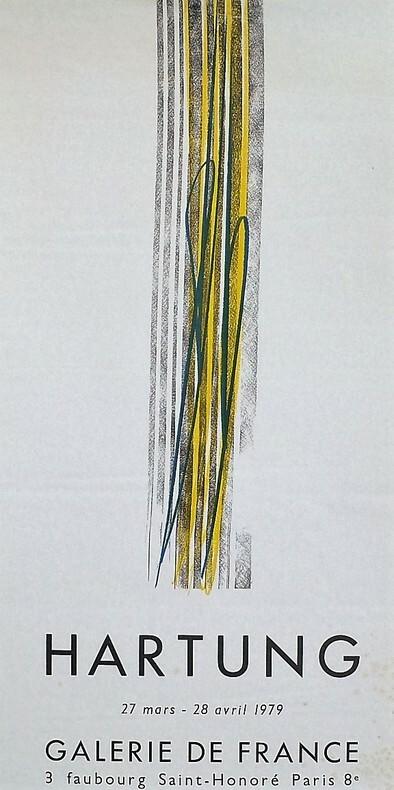 Hartung.. [Affiche/Exposition] HARTUNG (Hans).