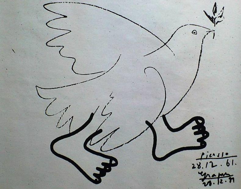 Pour la paix et le désarmement.. [Affiche] GRAPUS.