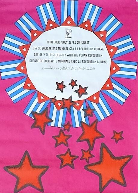 Jornada de Solidaridad con la Revolucion Cubana- 26 de julio.. [Affiche/Cuba]