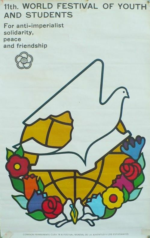 11 th. World festival of youth and students.. [Affiche/Cuba]