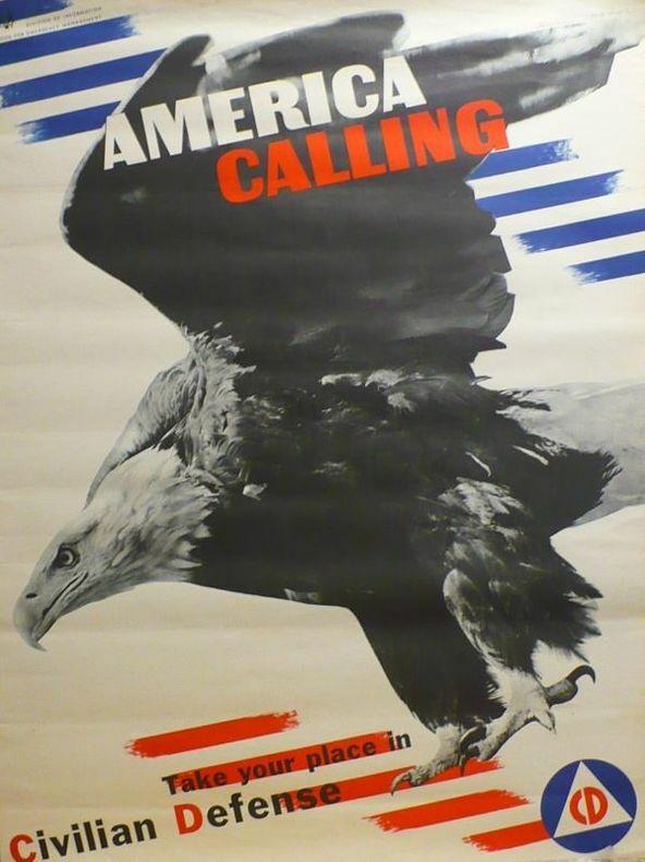 America Calling. Take your place in Civilian defense.. [Affiche/USA] FISCHER (Arthur)