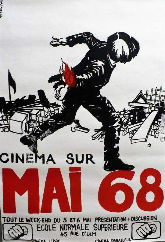 CINÉMA SUR MAI 68. Cinéma Libre. Cinéma Parallèle.. [Mai 68]. ANONYME.