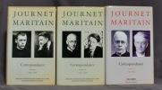 Journet - Maritain. Correspondance (1920-1973).. JOURNET Charles; MARITAIN Jacques & al.: