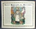 Saintetés. Saint Nicolas - Saint Bernard - Saint Chirstophe - Saint Augustin - Sainte Marie Madeleine - Saint Joseph.. PONCET Chanoine Louis; BOESCH ...