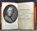 Le despotisme dévoilé, ou Mémoires de Henri Masers de Latude, détenu pendant trent-cinq ans dans diverses prisons d'état; rédigés sur les pièces ...