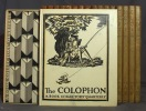 The Colophon. A Book Collectors' Quarterly - The New Colophon - The Colophon New Series. 1930 à 1938.. ADLER Elmer: