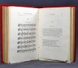 Chansons populaires de l'Alsace. Tome I.. WECKERLIN J.B: