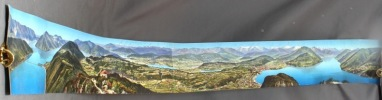 [Panorama circulaire depuis le Monte Salvatore]..