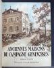 Anciennes maisons de campagne genevoises.. BARDE Edmond; BOISSONNAS Frédéric: