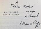 La veillée des Vikings.. CHAPPAZ Maurice: