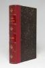 L'écho des Alpes. Publication des sections romandes du club alpin suisse. 1874 [et] 1875..