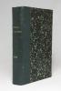 L'écho des Alpes. Publication des sections romandes du club alpin suisse. 1910..