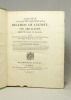 Relation de l'Egypte. Suivie de divers extraits d'écrivains orientaux, et d'un Etat des provinces et des villages de l'Egypte dans le XIVe siècle par ...