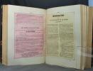 Les murailles révolutionnaires. Collection complète des professions de foi, affiches, décrets, bulletins de la république, fac-simile de signatures. ...