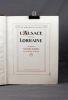 L'Alsace et la Lorraine. Les provinces captives.. BARRES Maurice (préf.):