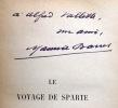 Le voyage de Sparte.. BARRES Maurice: