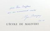 L'école de Malivert.. CHAMSON André: