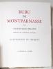 Bubu de Montparnasse.. PHILIPPE Charles-Louis; MARQUET Marcelle (préf.):
